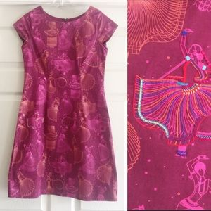 Play Clan Embroidered Shift Dress Small A122